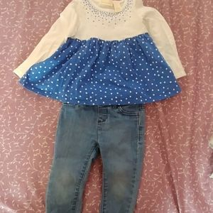 Girls jean outfit
